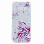 Til samsung s8 plus s8 case cover gennemsigtigt mønster bagside cover blomst blødt tpu til samsung s7 kant s7 s6 kant s6 s5 mini s5