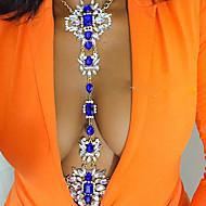 Damskie Biżuteria Łańcuszek na brzuch Łańcuch nadwozia / Belly Chain Modny Postarzane Bohemia Style Ręcznie wykonane Tęczowy Turecki