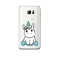For Case Cover Ultra Thin Pattern Back Cover Case Unicorn Soft TPU for Samsung Note 5 Note 4 Note 3