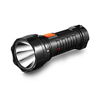 Yage-3738 led 1pcs φακός επαναφορτιζόμενη δάδα ενσωματωμένη μπαταρία φως 2-τρόπου λάμπα λυχνία λάμπα torch μπαταρία μέσα