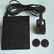 Ενυδρεία Αντλίες Νερού Τεχνητά Με Διακόπτη(ες) Προσαρμόσιμη Αθόρυβο Ηλιακής Ενέργειας Μη τοξικό και χωρίς γεύση Πλαστικό 1.4W110V