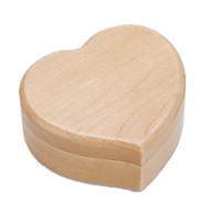 Spilledåse Hjerte formet Originalt bidelegetøj Træ Unisex