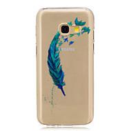 Για Ημιδιαφανές Με σχέδια tok Πίσω Κάλυμμα tok Φτερό Μαλακή TPU για Samsung A3 (2017) A5 (2017) A5(2016) A3(2016)