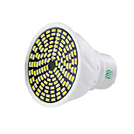 5W GU10 GU5.3(MR16) Spot LED MR16 128 SMD 3014 400-500 lm Blanc Chaud Blanc Froid Blanc Naturel Gradable Décorative AC 100-240 V 1 pièce