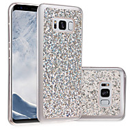 Til Samsung Galaxy S8 Plus S8 Case Cover Imd Diy Bag Cover Glitter Shine Soft TPU S7 Kanten S7 S6 Kanten S6