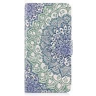 Til Etuier Pung Kortholder Med stativ Flip Heldækkende Etui Mandala-mønster Hårdt Kunstlæder for SamsungJ7 Prime J5 (2016) J5 Prime J5