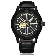 Heren Dames Sporthorloge Dress horloge Skeleton horloge Modieus horloge Polshorloge Chinees Automatisch opwindmechanisme Grote wijzerplaat