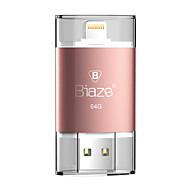 Biaze 64gb otg unidad flash u disco para ventanas ios para iphone ipad pc