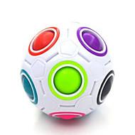 Rubiks kube Glatt Hastighetskube Magiske kuber Magisk tilbehør Pedagogisk leke Ball- og koppespill gjennomsiktig klistremerkeAnti-pop