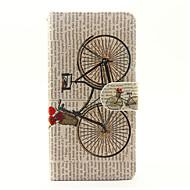 Til huawei p9 lite p8 lite (2017) cover til cykelmønster pu læder tasker til huawei y625
