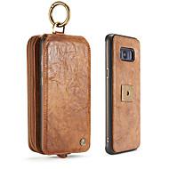 Voor Samsung Galaxy S8 Plus S8 telefoon hoesje Caseme Retro split leather multi-slot tas tas lederen tas voor s7 edge s7