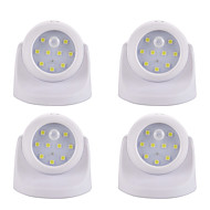 LED Night Light-2W-BatteriSmart Menneskekroppssensor - Smart Menneskekroppssensor