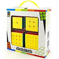 Rubik kocka Sima Speed Cube Stresszoldó Rubik-kocka Fejlesztő játék sima matrica Anti-pop állítható rugó