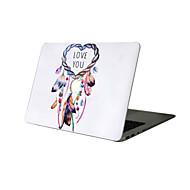 For New MacBook Pro 13 15 Air 11 13 Pro Retina 13 15 Macbook 12 Case Cover PVC Material Oil Painting Dream Catcher MacBook Case