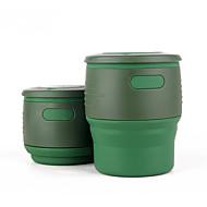 Kube / puchar Składany Jedzenie i picie w podróży na Składany Jedzenie i picie w podróży Beige Czerwony Green Niebieski