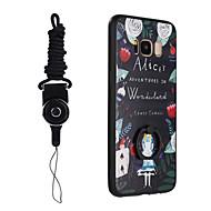 Til Samsung Galaxy S8 S8 Plus case tegneserie sød dækning malet hårdt pc tpu shell stents og reb for s7 s7 plus