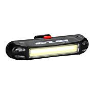 Cykellys Baglygte til cykel LED LED Cykling Udendørs Vandafvisende LED Lampe USB Lithium Batteri 100 Lumen USB Blå Rød Naturlig Hvid