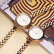 SK Damen Modeuhr Armband-Uhr Chinesisch Quartz Wasserdicht Schockresistent Metall BandVintage Streifen Bettelarmband Bequem Kreativ