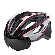 FJQXZ Unisex Pyörä Helmet 17 Halkiot Pyöräily Maastopyöräily Maantiepyöräily Virkistyspyöräily Suuri: 59-63cm;1680D vedenpitävä