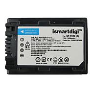 Ismartdigi fh50 7.2v baterie de camera 1050mah pentru Sony hx1 a230 a330 a290 a390