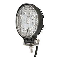 kkmoon 27w led autóknak fénysáv 4.3 inch kerek pontnyaláb Jeep 4x4 offroad atv teherautó suv 12v 24v