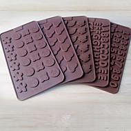 2 darab süteményformákba Újdonság Kenyér Csokoládé Cake Mert főzőedények 3D Jó minőség Kreatív Konyha Gadget DIY Sütés eszköz