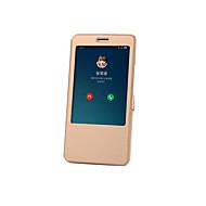 Xiaomi mi max burkolat borítású állvánnyal flip auto alvás / ébresztés teljes karosszéria tok egyszínű kemény pu bőr