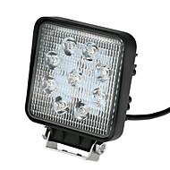 kkmoon 27w led autóknak fénysáv 5,5 hüvelyk 2025lm pontnyaláb Jeep 4x4 offroad atv teherautó suv 12v 24v