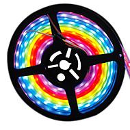HKV® 1PCS 5M 5050SMD 300 LED IC Digital Dream Color Strip IP67 Tube Waterproof Dream Magic Color LED Casing Pipe DC 12V