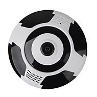 veskys®960p 360度魚眼レンズフルビューip wi-fiカメラ(1.3m fisheye wi-fi 10mニービジョンデュアルトーク)