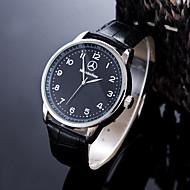 Herrn Sportuhr Kleideruhr Modeuhr Armbanduhr Einzigartige kreative Uhr Armbanduhren für den Alltag Chinesisch Quartz Wasserdicht Leder