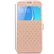 Case For Samsung Galaxy J7 (2016) J5 (2016) Case Cover Card Holder with Stand Flip Embossed Full Body Case Geometric Pattern Hard PU Leather