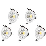 LED 스포트라이트 따뜻한 화이트 차가운 화이트 LED 전구 포함 5개