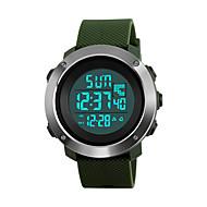 SKMEI Γυναικεία Αθλητικό Ρολόι Στρατιωτικό Ρολόι Μοδάτο Ρολόι Ρολόι Καρπού Ψηφιακό ρολόι Ιαπωνικά ΨηφιακόLED Ημερολόγιο Χρονογράφος