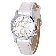 Dames Sporthorloge Modieus horloge Polshorloge Unieke creatieve horloge Vrijetijdshorloge Kwarts Leer BandBedeltjes Cool