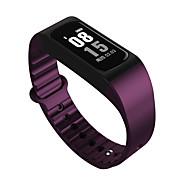 W4S Slimme armband iOS AndroidWaterbestendig Lange stand-by Stappentellers Logboek Oefeningen Gezondheidszorg Hartslagmeter Wekker