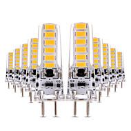 4W Żarówki LED bi-pin T 12 SMD 5730 300-400 lm Ciepła biel Zimna biel Przysłonięcia Dekoracyjna AC 12 V 10 sztuk