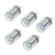 5W LED Bi-Pin lamput T 18 SMD 2835 450-550 lm Lämmin valkoinen Kylmä valkoinen V 5 kpl
