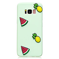 suojakotelo Samsung Galaxy S8 S8 plus suojus vesimeloni ananas malli hedelmien väri TPU materiaali DIY matkapuhelin tapauksessa S7 S7