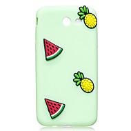 Tok samsung galaxy j3 j5 tok borítás görögdinnye ananász minta gyümölcs szín tpu anyag diy telefon tok j7