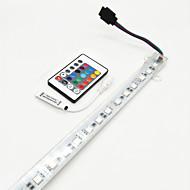 8W 단단한 LED 조명 바 700-800 lm DC12 V 0.6 m 36 LED가 RGB