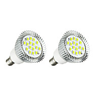 3W LED Spotlight MR16 16SMD 5630 260-300Lm Warm White/White AC 220-240V 2 pcs