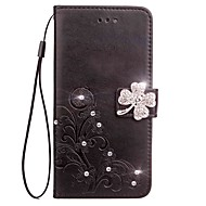Case for Samsung Galaxy Note 5 Note 4 Wallet Rhinestone Embossed Pattern PU Leather Case for Samsung Galaxy Note 3