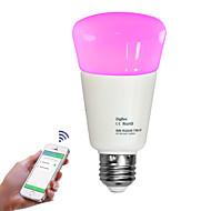 9W Smart LED-lampe 31 SMD 2835 750 lm Varm hvid Kold hvid Naturlig hvid RGB Dæmpbar Fjernstyret Dekorativ APP kontrol V 1 stk.