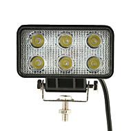 kkmoon 18w led autóknak fénysáv 4.3 inch 1350lm pontnyaláb Jeep terepjáró ATV teherautó suv 12v 24v