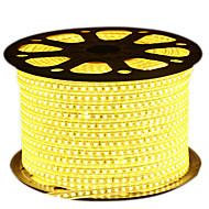 72W Flexible LED-Leuchtstreifen 6950-7150 lm AC220 V 5 m 600 Leds Warmweiß Weiß Blau