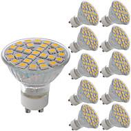 5W LED-spotlys MR11 29 SMD 5050 380 lm Varm hvid Kold hvid Dekorativ Vekselstrøm 220-240 V 10 stk.