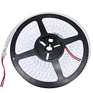36W Esnek LED Şerit Işıklar 3400-3500 lm DC12 V 5 m 1200 led Sıcak Beyaz Beyaz