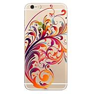 Obudowa dla iPhone 7 7 plus kwiatowy wzór tpu miękka tylna pokrywa dla iPhone 6 plus 6s plus iPhone 5 se 5s 5c 4s
