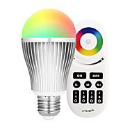 9W LED Έξυπνες Λάμπες A60(A19) 18 SMD 5730 900 lm RGB + θερμόΥπέρυθρος Αισθητήρας Με ροοστάτη Τηλεχειριζόμενο WIFI Έλεγχος APP Έλεγχος